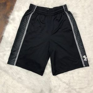 Under armour mens black shorts